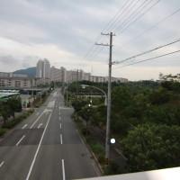 板宿整体院院長が撮影した名谷の道路